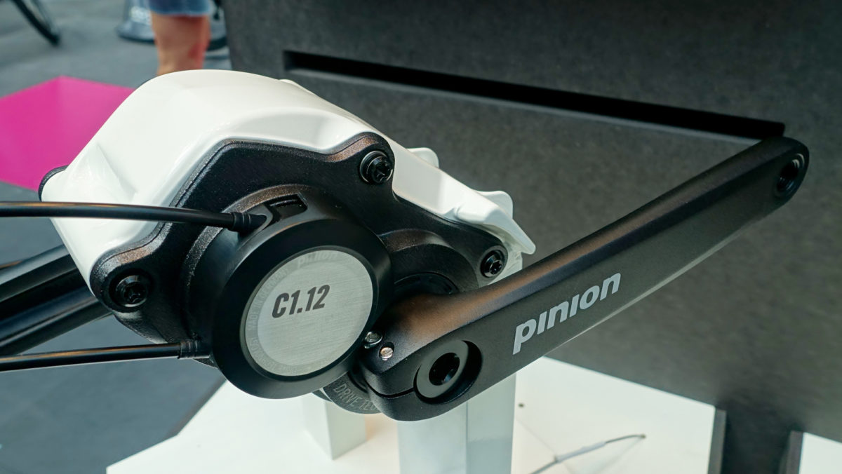 The new Pinion C1.12