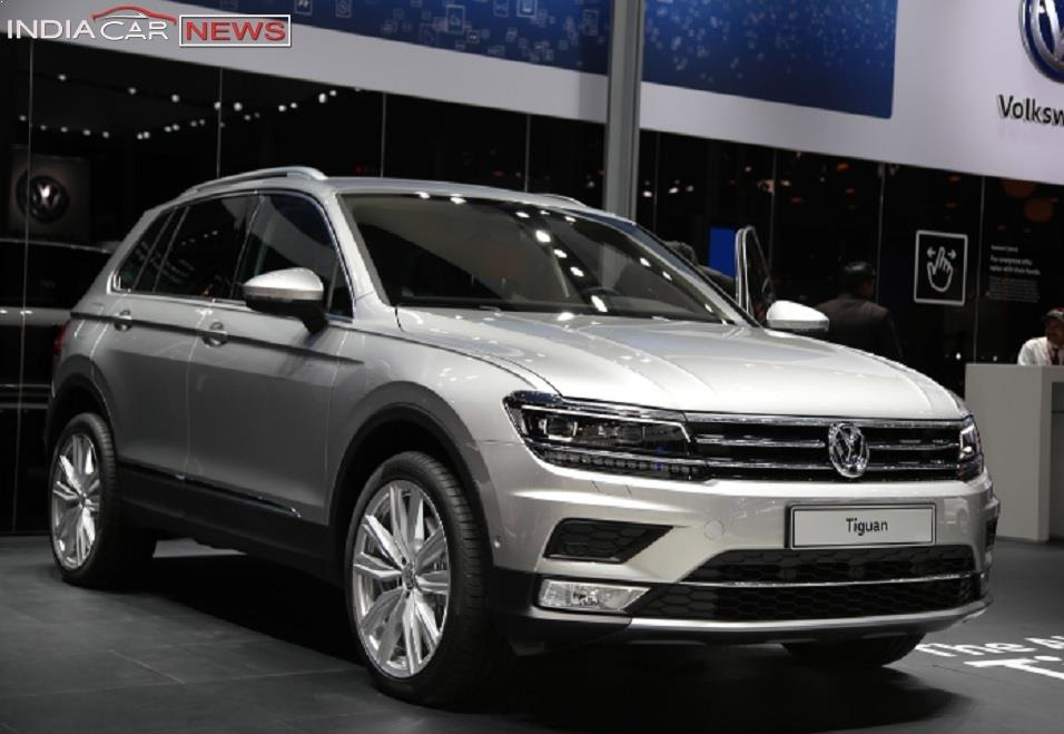New Volkswagen Tiguan 2017 India